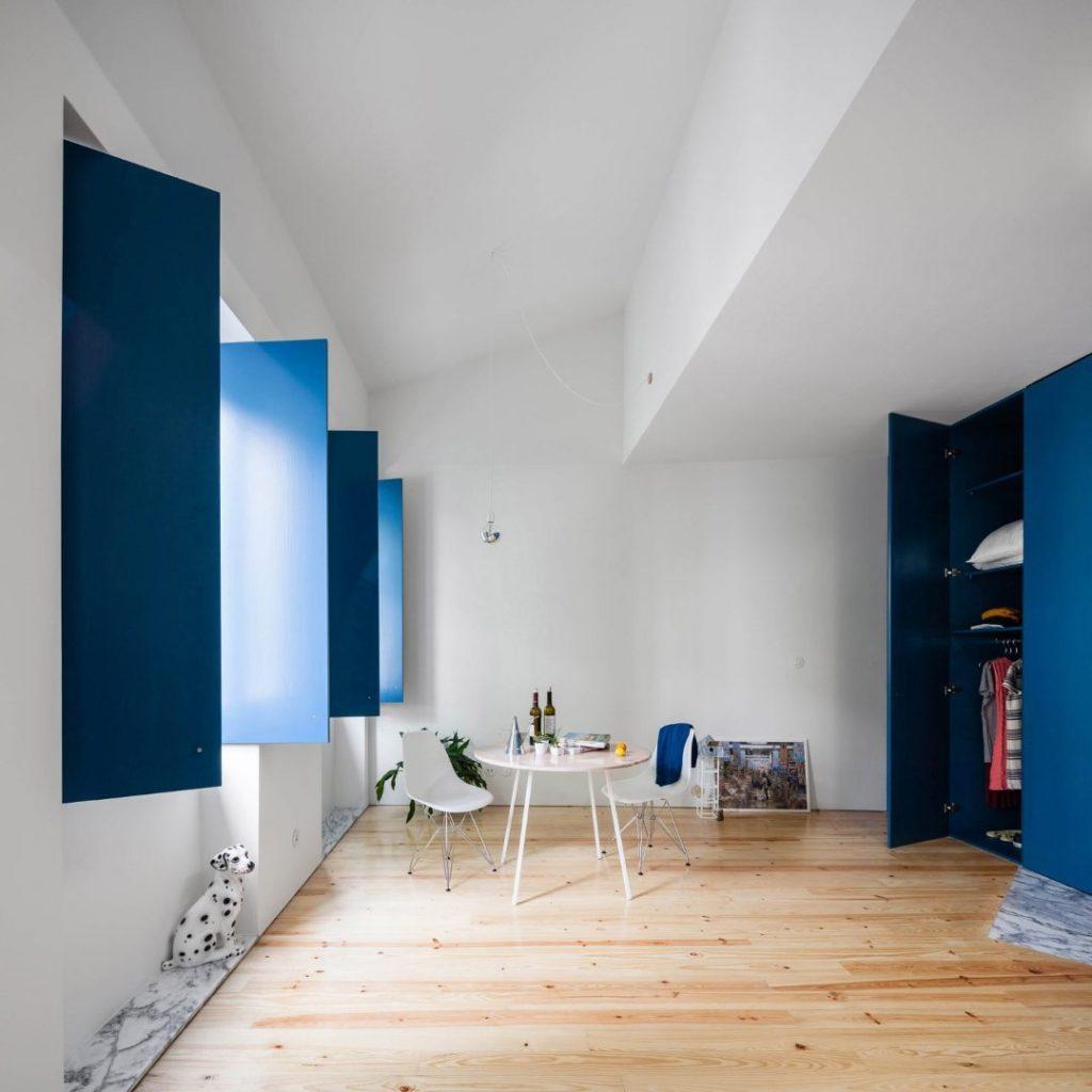 آبی کلاسیک در طراحی